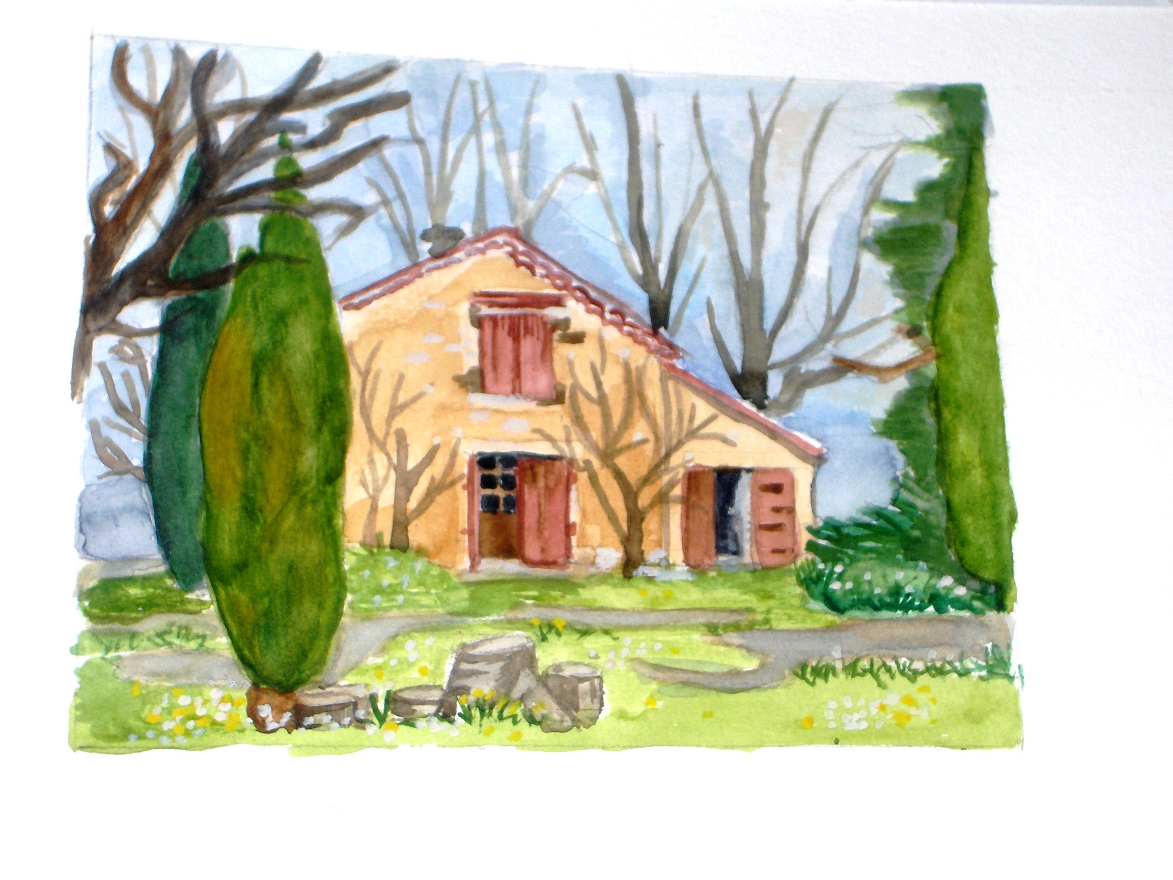 Nid d'amour, maison de campagne à Eguilles, Aix en Provence